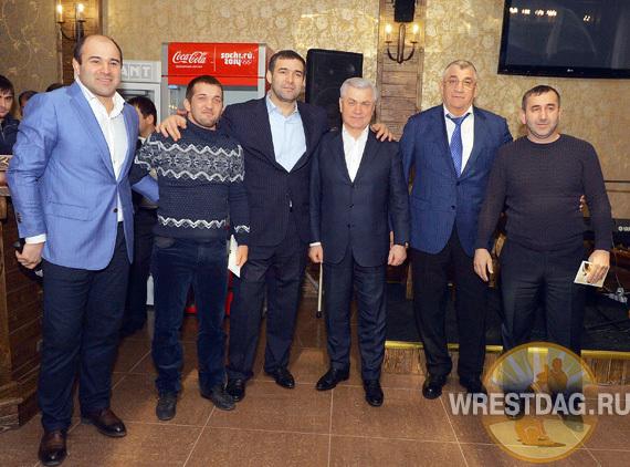 Дагестанских борцов наградили по итогам сезона