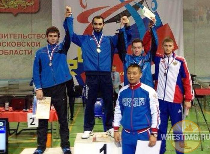 Тхэквондист Сейфулла Магомедов в восьмой раз выиграл чемпионат России