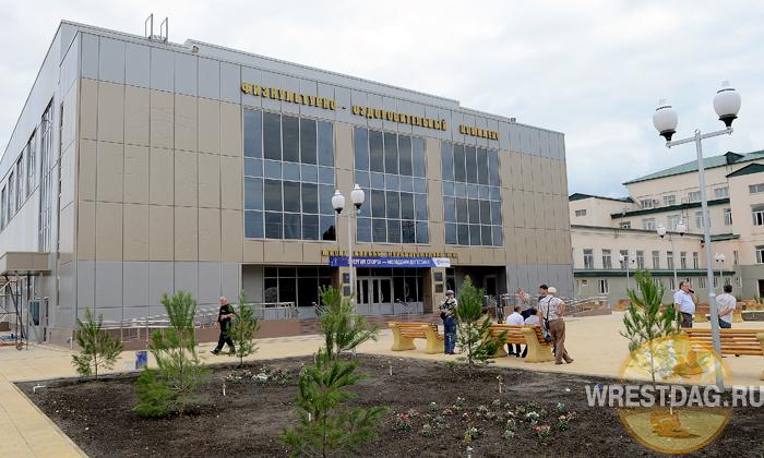 Новый зал для школы Курамагомеда