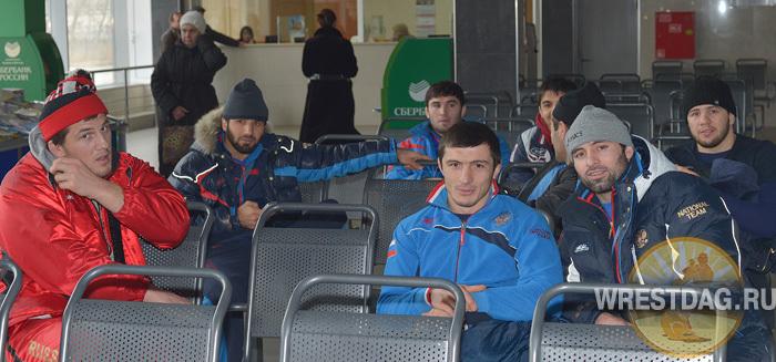 Вместе с командой по маршруту Махачкала — Красноярск