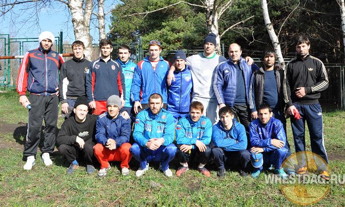 Один день на сборах с дагестанскими борцами