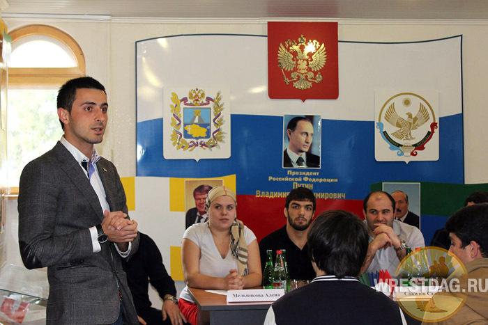 Дагестанские борцы побывали в гостях у земляков-ставропольцев