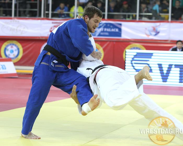 Сборная России по дзюдо – третья в общем зачете на чемпионате Европы