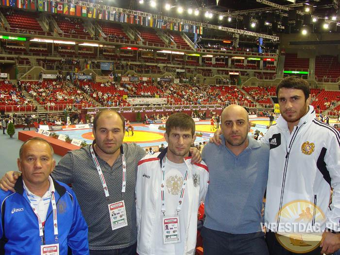 Дагестанские тренеры и борцы