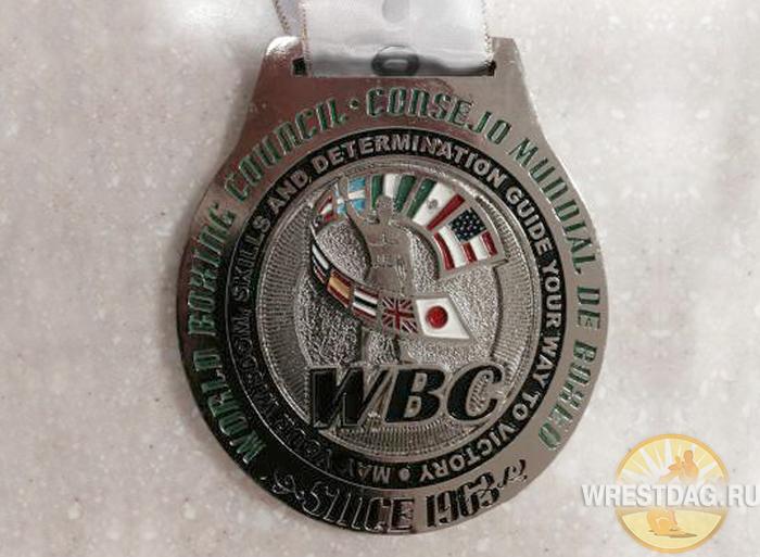 Магомеда Абдусаламова наградили медалью WBC