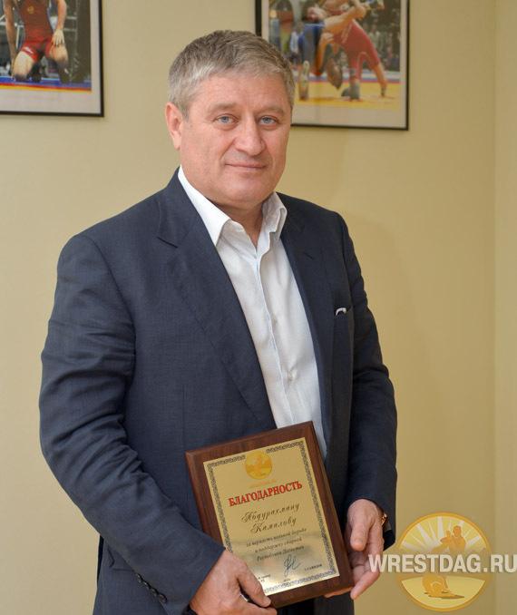 Страстный поклонник борьбы, депутат дагестанского парламента Абдурахман Камилов дал интервью wrestdag.ru