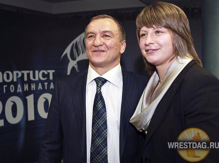 Семен Штерев со своей воспитанницей Станкой Златевой