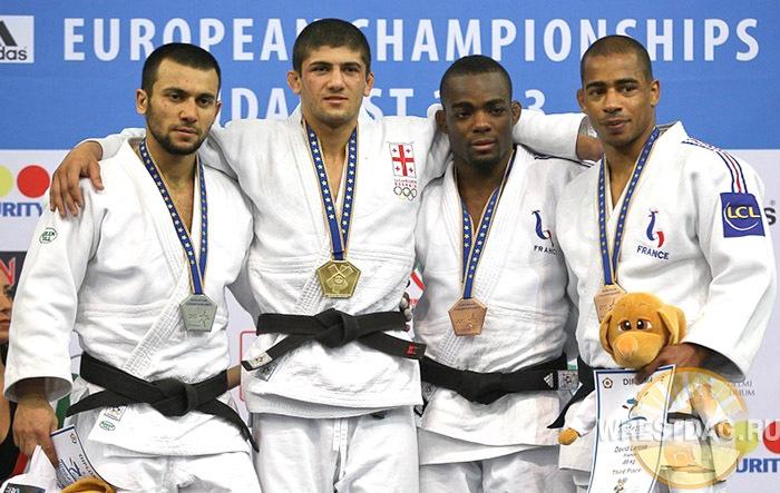 Дзюдоист Камал Хан-Магомедов завоевал серебряную медаль чемпионата Европы