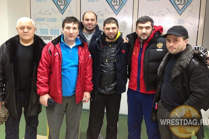 Дагестанские борцы поддержали Магомеда Абдусаламова