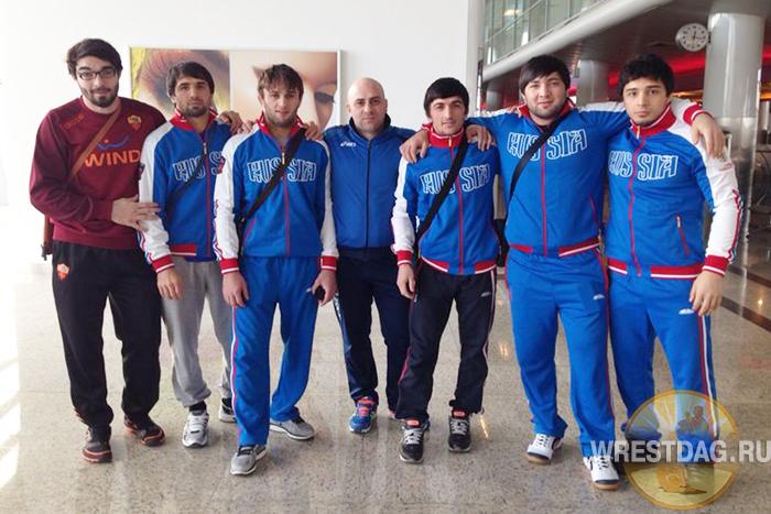 Пятеро дагестанских борцов на Кубке мира-2014