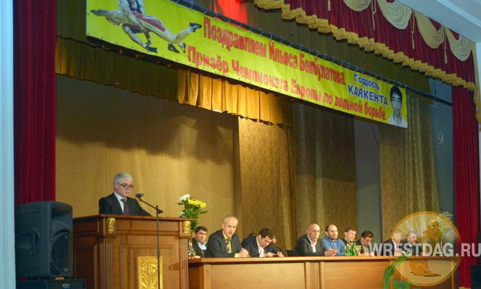В Каякенте устроили чествование Ильясу Бекбулатову
