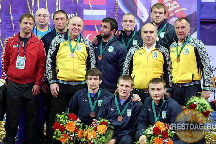 Украинцы определились с составами на турниры в Красноярск и Тегеран