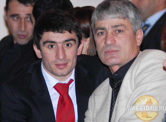 Альберт Селимов со своим личным наставником и главным тренером Baku Fires Нурипашой Талибовым