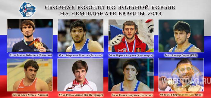 Чего ждать от российских вольников на Евро-2014?