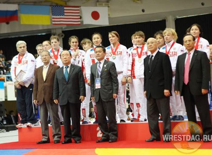 Россиянки заняли второе место на Кубке мира в Японии