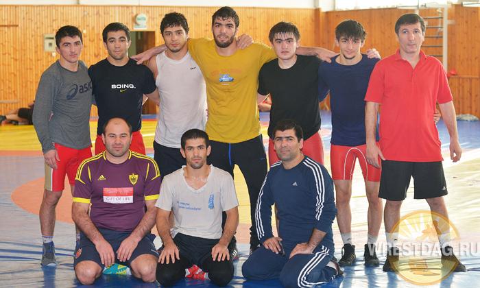 Сборная Дагестана готовится к ярыгинскому Гран-при